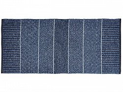 Kitchen rug (plastic/cotton) - The Horredmatta Alice Mix (blue)