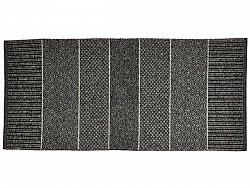 Kitchen rug (plastic/cotton) - The Horredmatta Alice Mix (graphite)