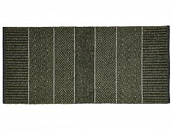 Kitchen rug (plastic/cotton) - The Horredmatta Alice Mix (olive)