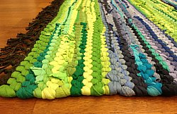 Rag rugs - Backamo (green)