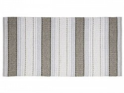 Kitchen rug (plastic/cotton) - The Horredmatta Anna Mix (graphite)