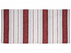 Kitchen rug (plastic/cotton) - The Horredmatta Anna Mix (red)