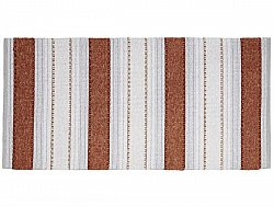 Kitchen rug (plastic/cotton) - The Horredmatta Anna Mix (rust)