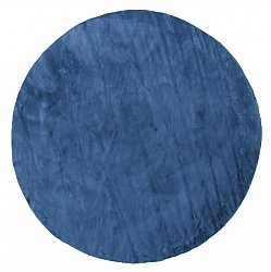 Round rugs - Aranga Super Soft Fur (blue)