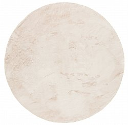 Round rugs - Aranga Super Soft Fur (beige)