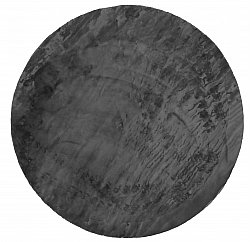 Round rugs - Aranga Super Soft Fur (anthracite)