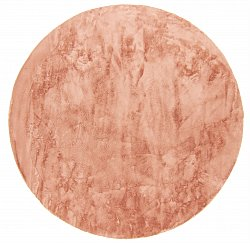 Round rugs - Aranga Super Soft Fur (pink)