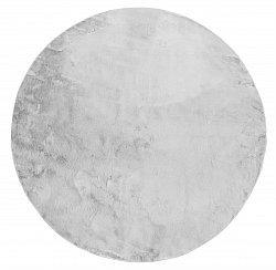 Round rugs - Aranga Super Soft Fur (grey)
