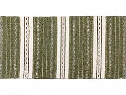 Kitchen rug (plastic/cotton) - The Horredmatta Asta Mix (olive)