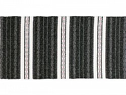 Kitchen rug (plastic/cotton) - The Horredmatta Asta Mix (black)