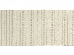 Kitchen rug (plastic/cotton) - The Horredmatta Asta Mix (white)