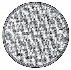 Round rug - Monsaraz (black)