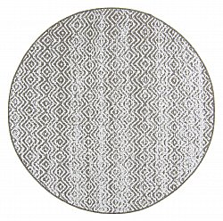 Round rug - Harstad (brown)