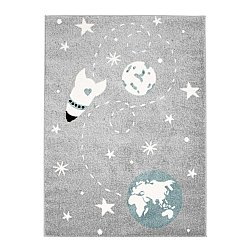 CHILDRENS RUGS rug for children room CHILDRENS RUGS for boy girl Bubble Rocket grey Rocket