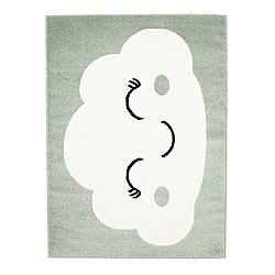 Childrens rugs - Bubble Smile (green)