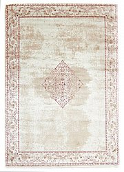 Wilton rug - Calinda (beige/red)