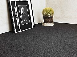 Wall-to-wall carpet - Cantana Square (anthracite/black)
