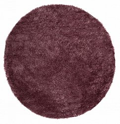 Round rug 80 cm - Cosy (ruby)