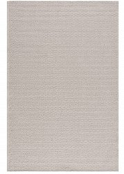 Cotton rug - Saltnes (light grey)