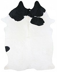 Cowhide - black and white 96