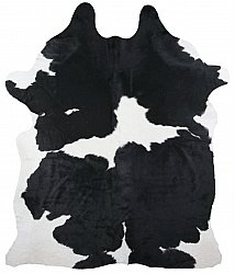 Cowhide - black and white 13