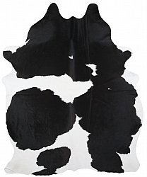 Cowhide - black and white 24