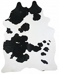 Cowhide - black and white 26