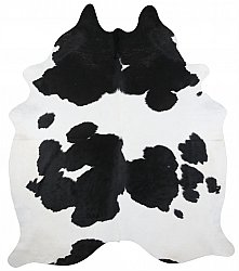 Cowhide - black and white 27