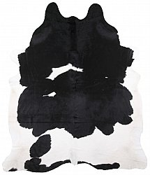 Cowhide - black and white 114