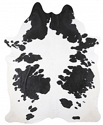 Cowhide - black and white 118