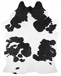 Cowhide - black and white 129
