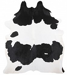 Cowhide - black and white 142