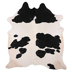 Cowhide - black and white 16