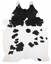 Cowhide - black and white 266
