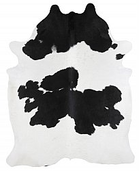 Cowhide - black and white 298