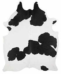 Cowhide - black and white 144