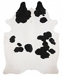 Cowhide - black and white 151