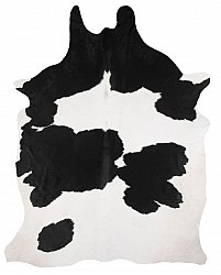 Cowhide - black and white 154
