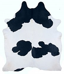 Cowhide - black and white 50