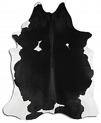 Cowhide - black and white 09