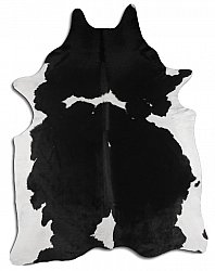 Cowhide - black and white 12