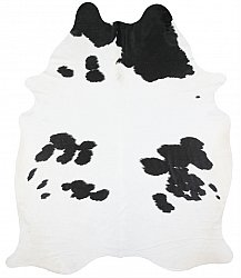 Cowhide - black and white 124