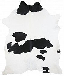 Cowhide - black and white 128