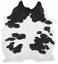 Cowhide - black and white 169
