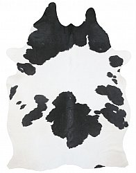 Cowhide - black and white 170