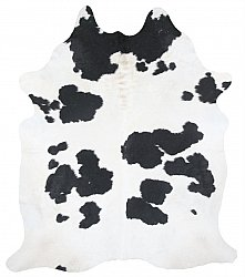 Cowhide - black and white 176