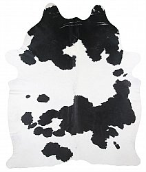 Cowhide - black and white 180