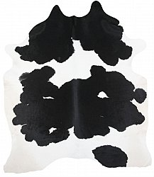 Cowhide - black and white 75