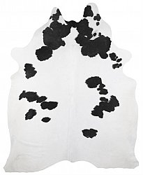 Cowhide - black and white 181
