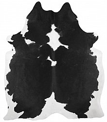 Cowhide - black and white 183